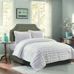 Avery's Chair Covers And More How To Build A Wooden Avery Luxury Bedding Collection At Home White Ruffle 2 Piece Comforter Twin