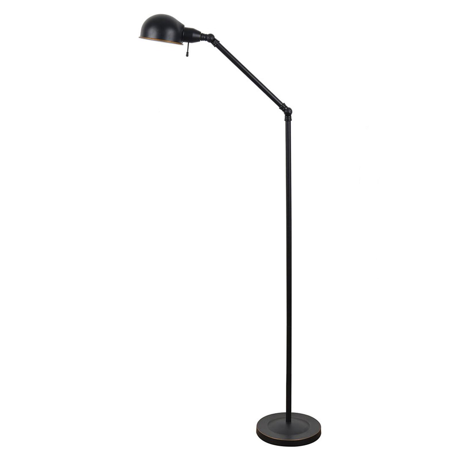 Metal Pewter Task Floor Lamp  At Home