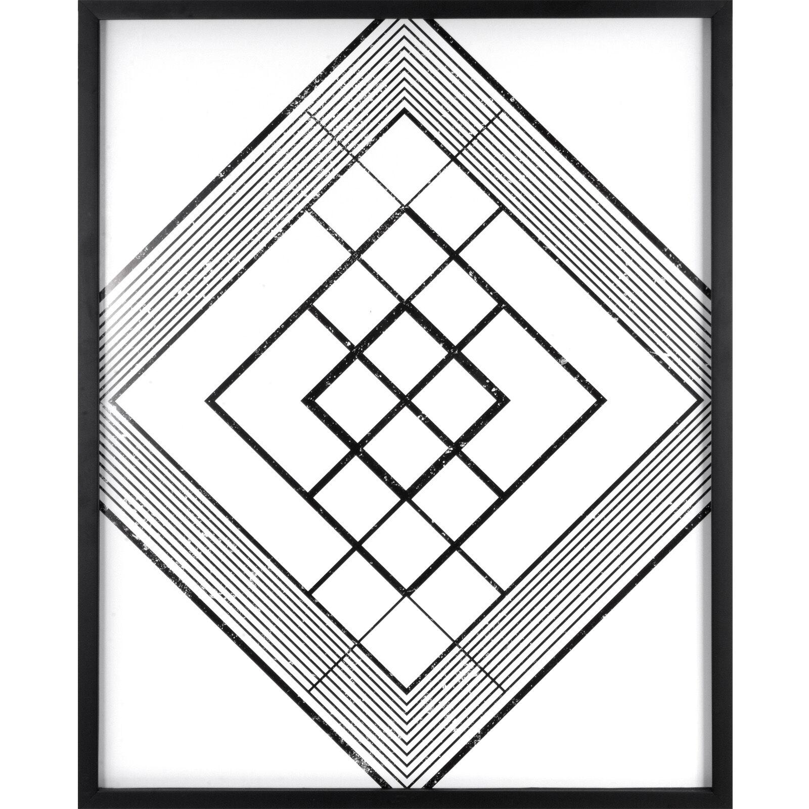 studio print under glass