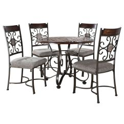 Green Dining Room Table And Chairs Bath For Disabled Home Furniture At 5 Piece Milan Faux Marble Set