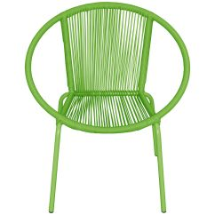 Round Wicker Chair Folding Melon At Home