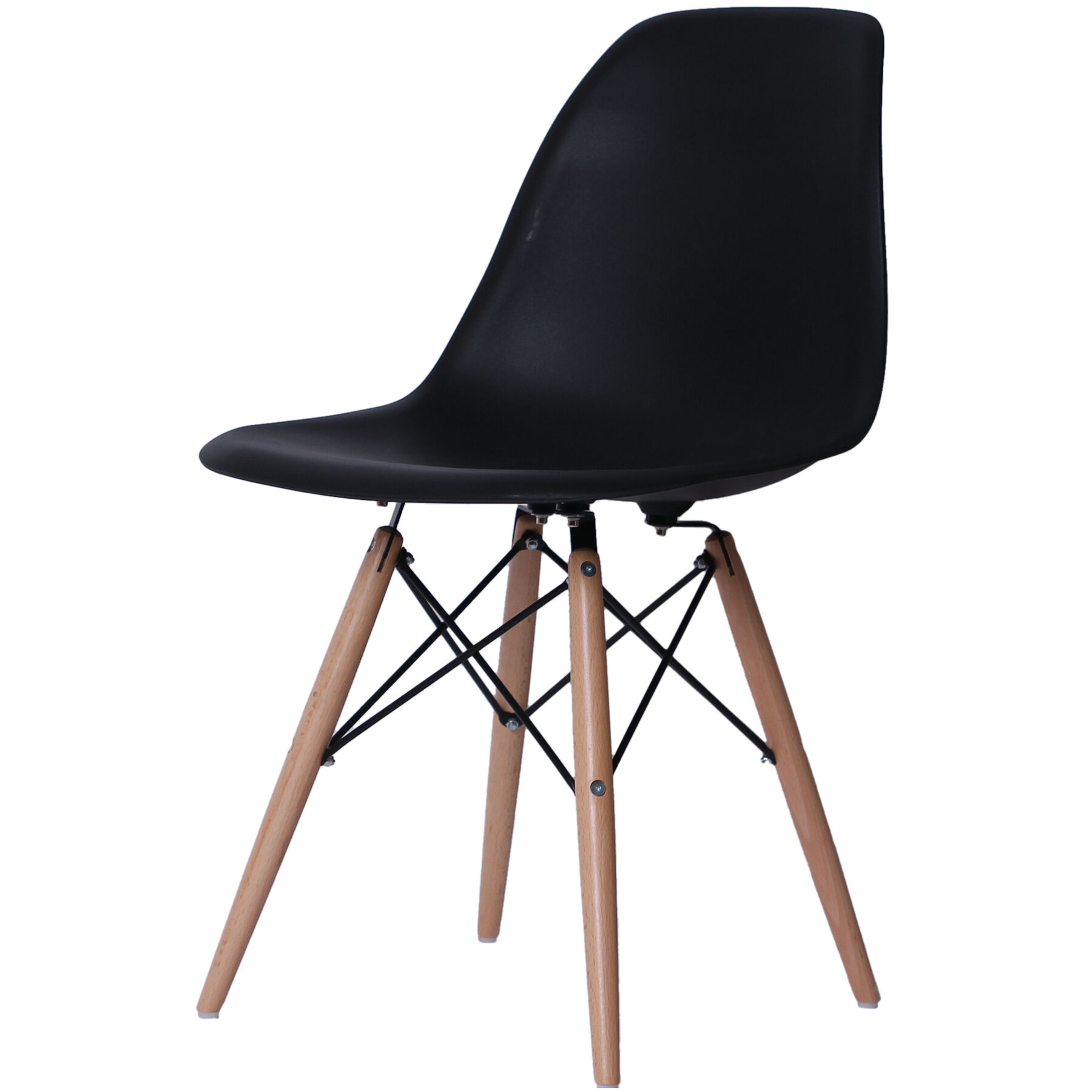 eiffel chair wood legs design bar black with at home zoom