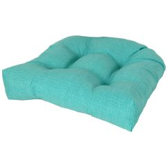 Teal Chair Cushions Ikea Computer Chairs Peacock Seat Cushion At Home