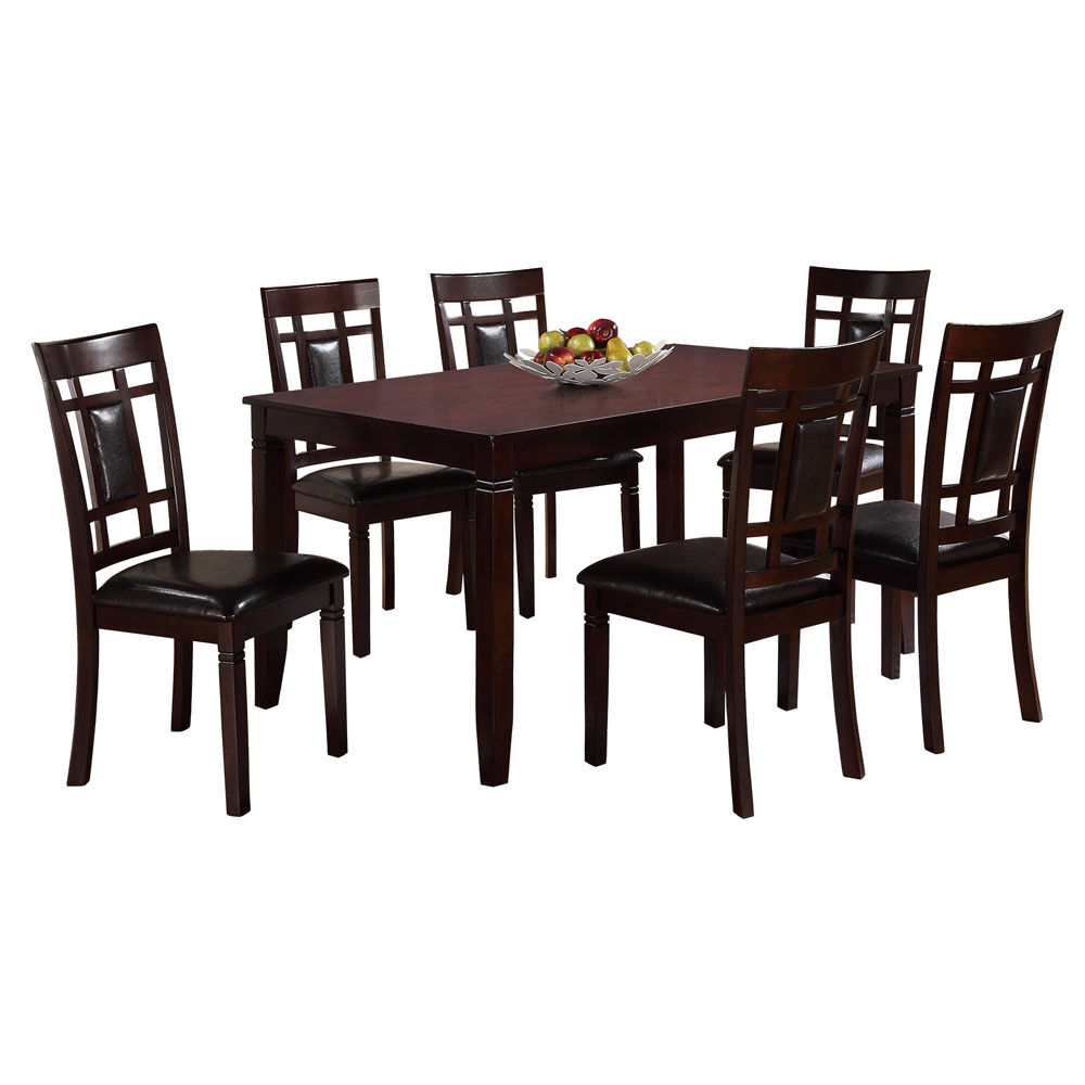 breakfast table and chairs set kids kmart 7 piece paige wood dining at home