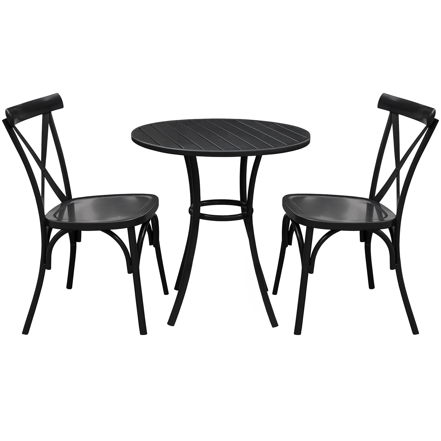 3 piece outdoor table and chairs cooper co beach patio garden clearance at home colmar bistro set
