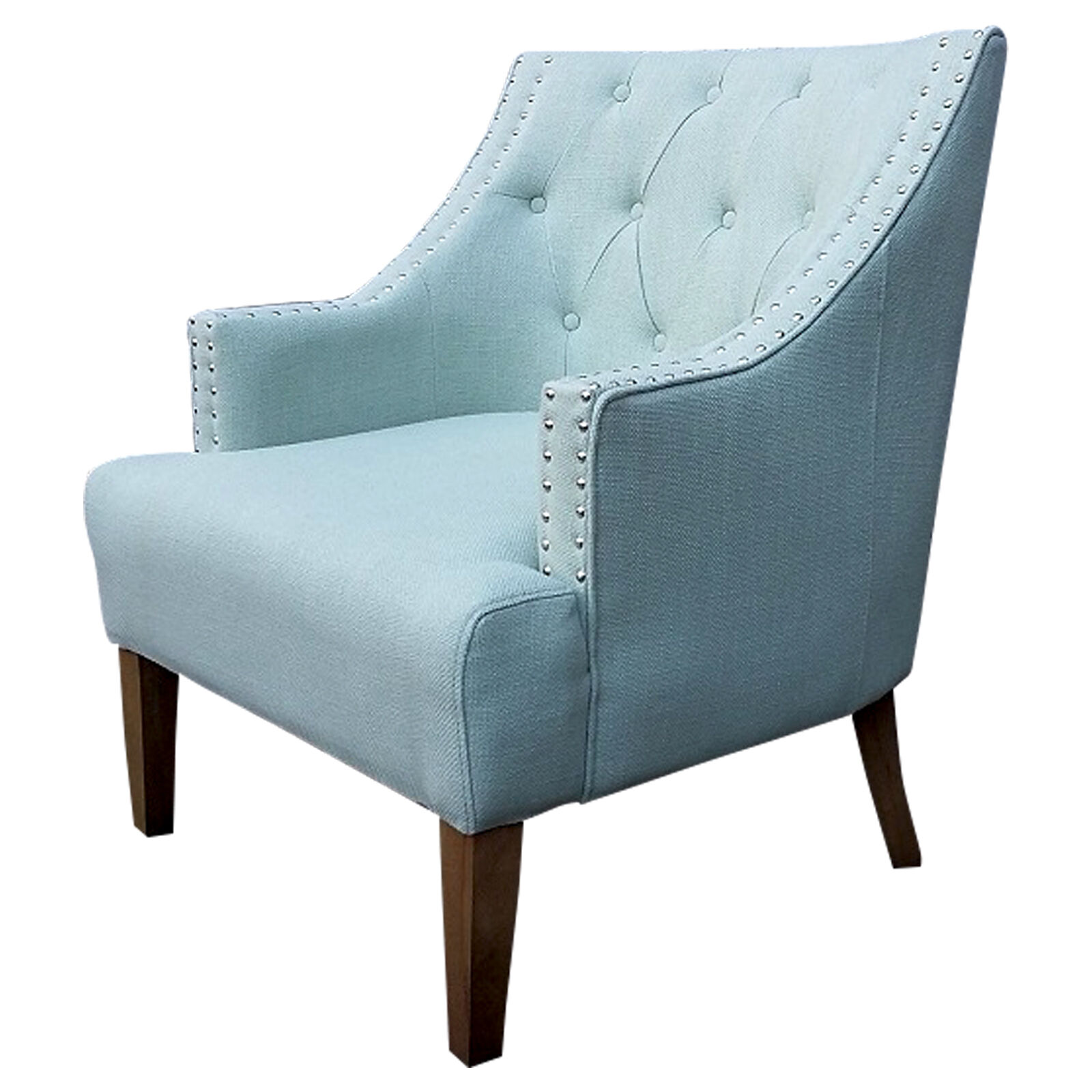 tufted blue chair office buy online torrei spa at home