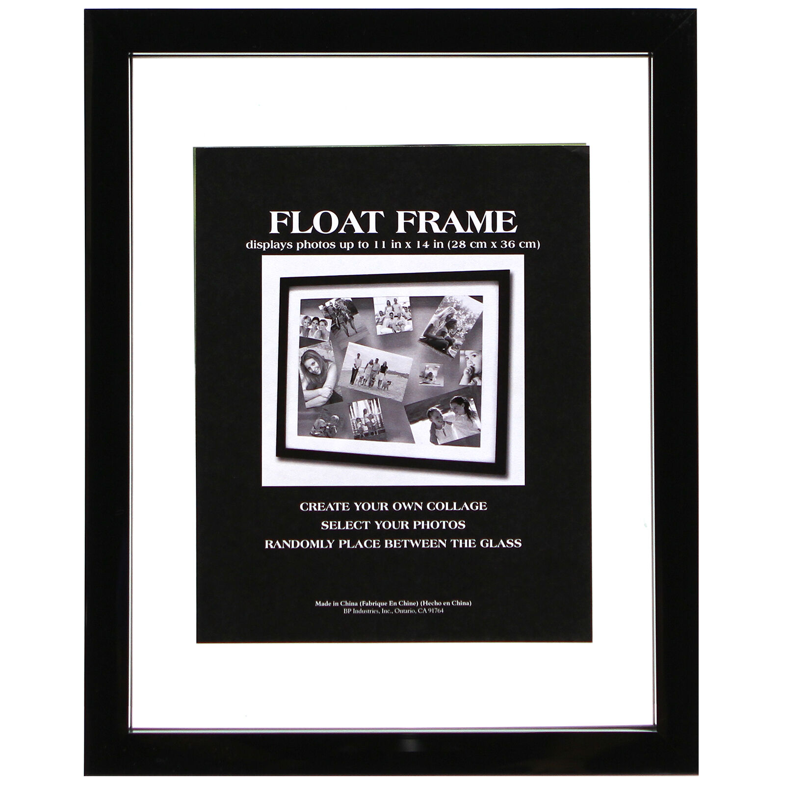 11 X 14in Black Float Frame  At Home