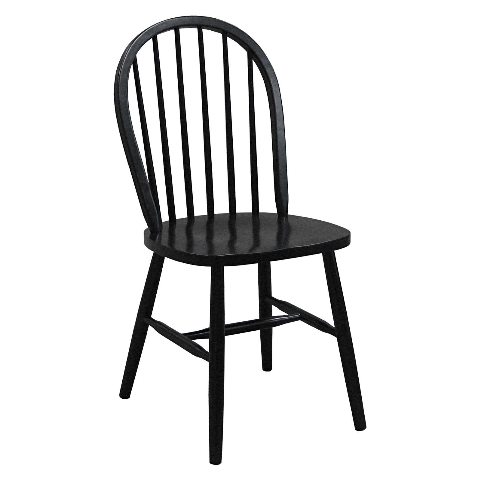 Black Windsor Chair