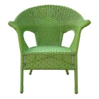 Green Wicker Patio Furniture. green outdoor wicker chair ...
