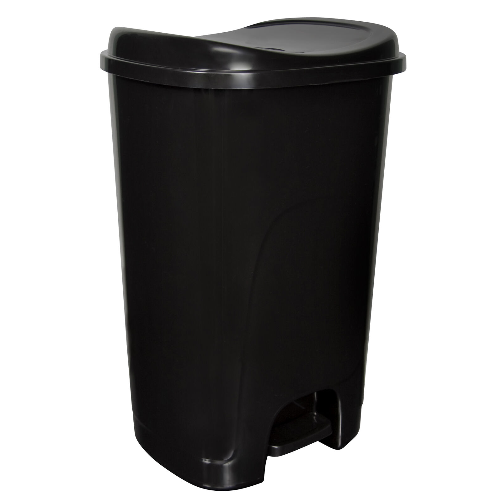 Hefty 13 Gallon Step- Trash - Black Home