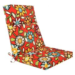 Steel Chair With Cushion Lawn Covers Wilder Cabana Hinged At Home