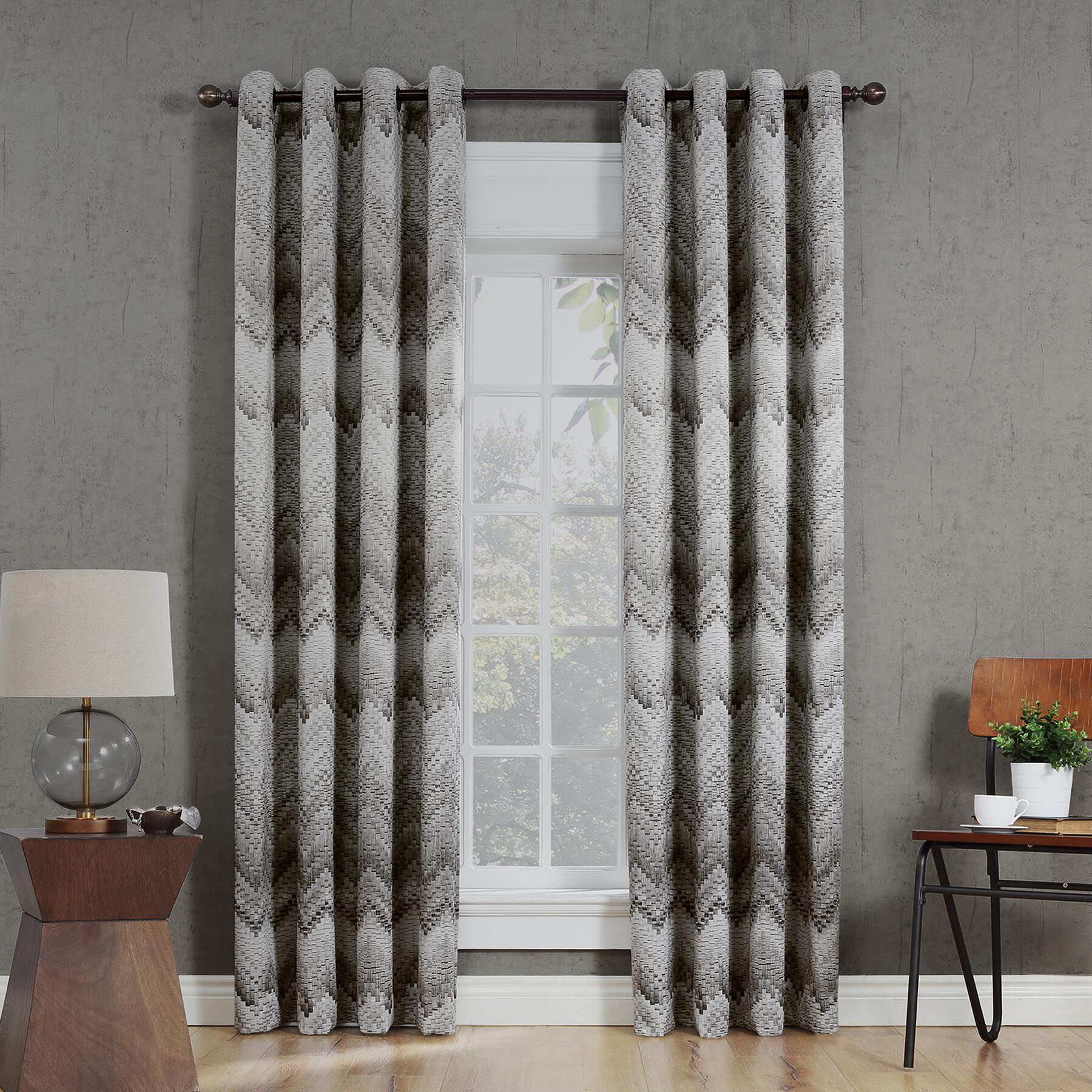 curtains for my living room design chocolate brown couch and drapes drape collection at home stores product 124263058