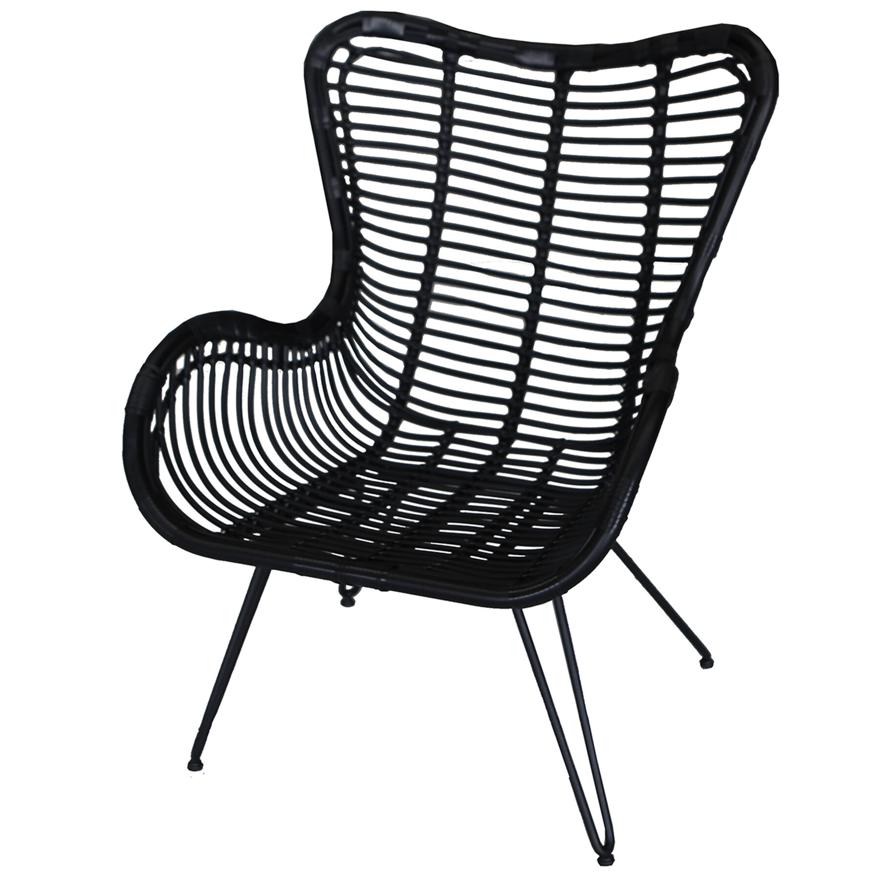 black rattan chair bedroom stool eliza at home
