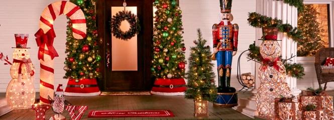 Christmas Outdoor Decor Overdone Small