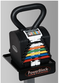 One set of adjustable PowerBlocks or KettleBlocks can save lots of money and space as they replace numerous traditional dumbbells or kettlebells.
