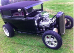 This 1930 Ford Model A will be auctioned off at the Barrett-Jackson auction Friday.