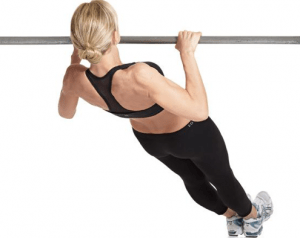 Inverted rows eliminate the unnecessary strain on your shoulders of pull-ups, and give your body a balanced workout. It can help improve your posture and help or even get rid of back pain.
