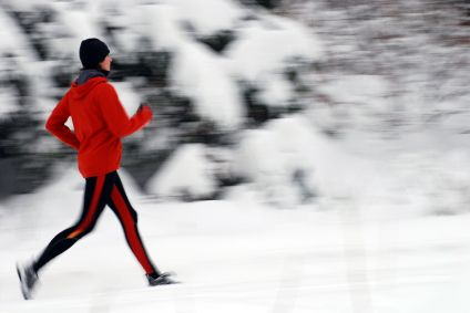 While many fitness enthusiasts succumb to the elements and move their running primarily indoors to a treadmill, it doesn't have to be that way. It's possible to not only endure running outside in the winter, but actually to enjoy it.