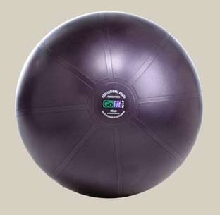 GoFit Professional Grade Burst Resistant Ball - 65CM Purple