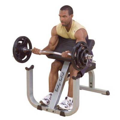 Body-Solid Heavy-Duty Preacher Curl Bench