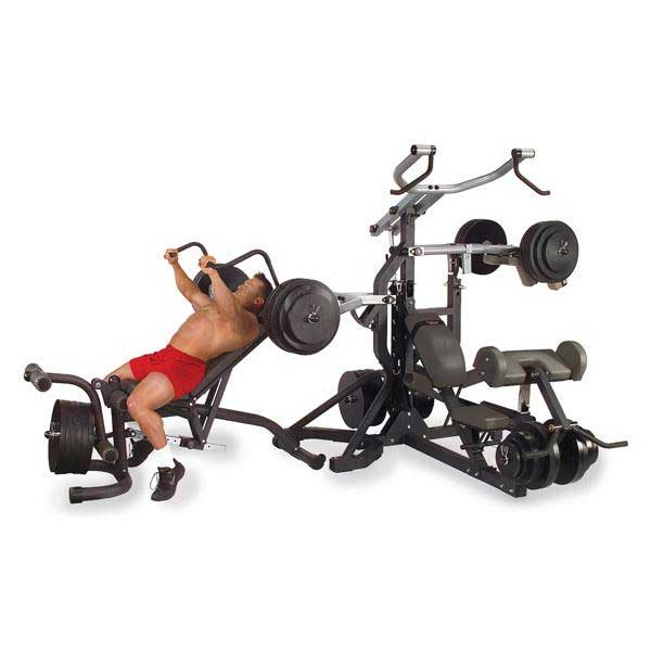 Body-Solid Freeweight Leverage Gym (Full Package W/ Bench)