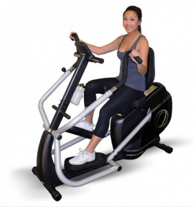 The Inspire CS-2 Cardio Strider Recumbent Bike is a less expensive, but just as effective option as the popular NuStep Bike for people who want a home recumbent exercise bike.