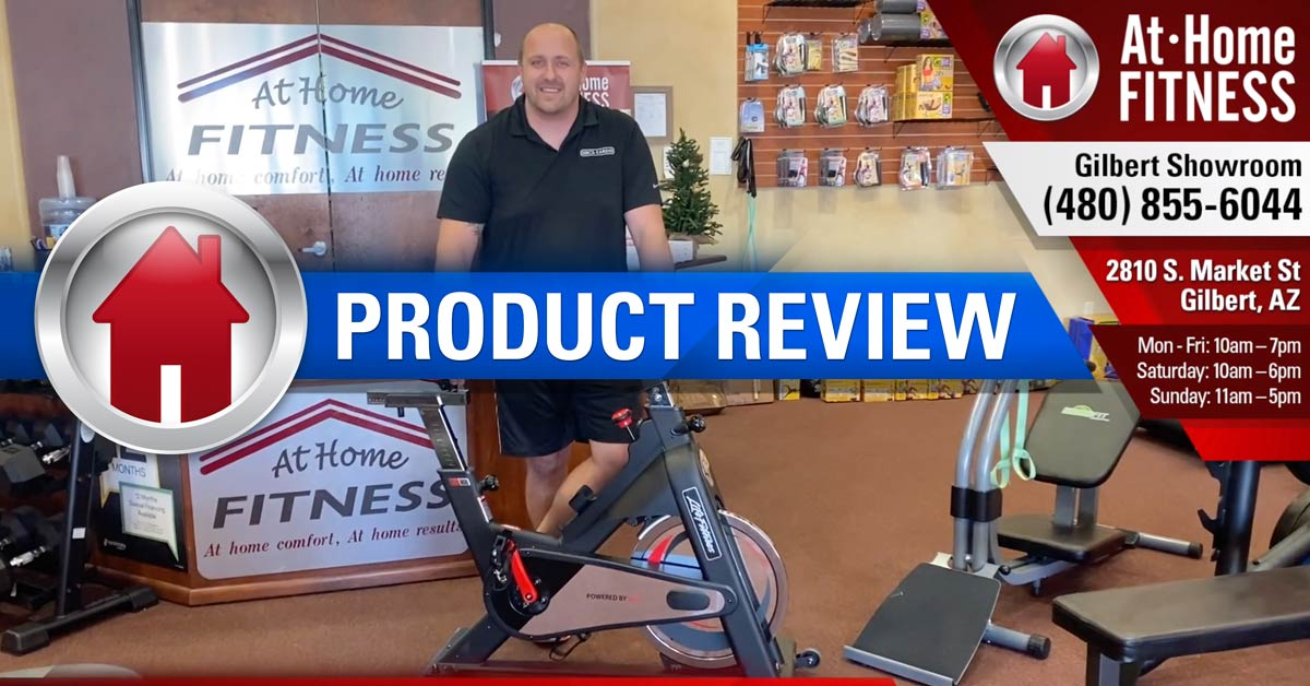 Mike Sullivan reviews Life Fitness IC1 Spin Bike