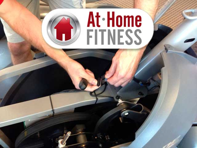 WHY GET fitness equipment repair from at home fitness