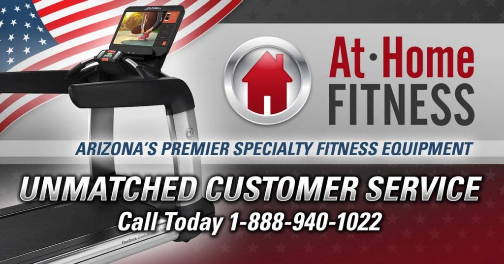 At Home Fitness Phoenix superstore service team keeps you moving