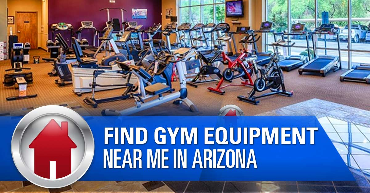 Find gym equipment near me? At Home Fitness is the place to go in Arizona
