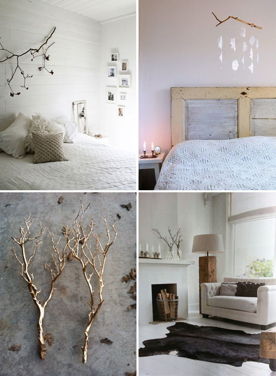 1 Using Branches Instead Of Christmas Tree For Interior Decor6 Jpg