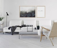 Deck the Walls with Scandinavian Art | At Home In Love
