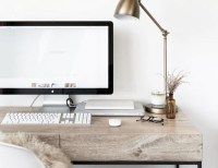 Stylish Home Office Desks - At Home with Abby