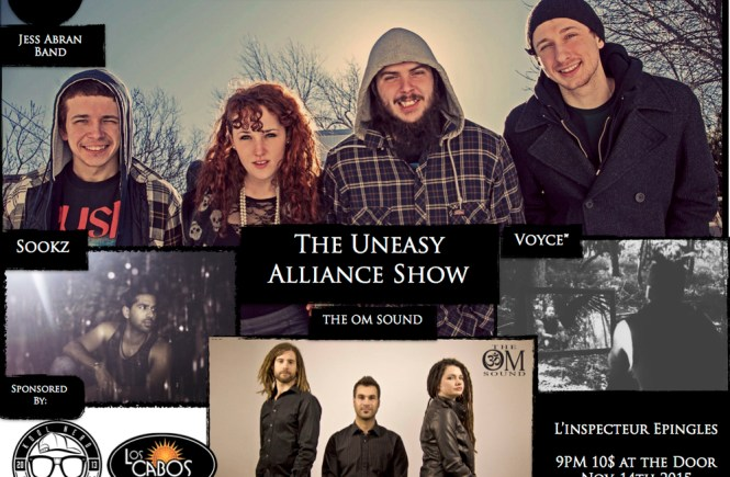 The Uneasy Alliance Show Presented by Jess Abran ft. Voyce*, Sookz, The OM Sound and Many Special Guests