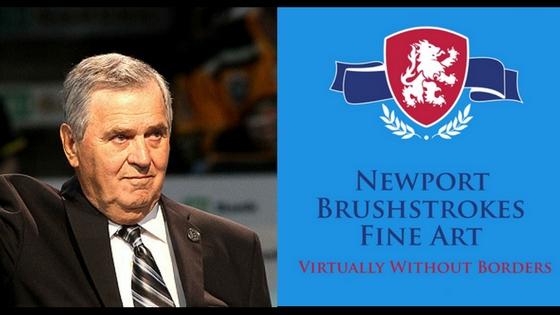 Harry Sinden Newport Brushstrokes