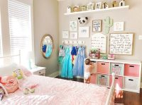 The Girls Shared Room  Decor and Storage  At Home With ...