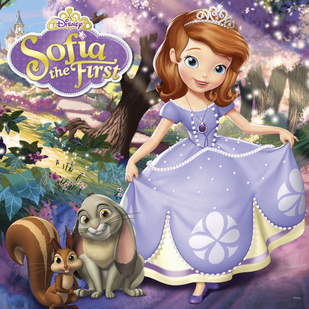 Sofia The First Snack  Craft Time  At Home With Natalie