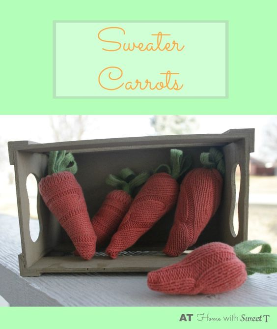 Sweater Carrots