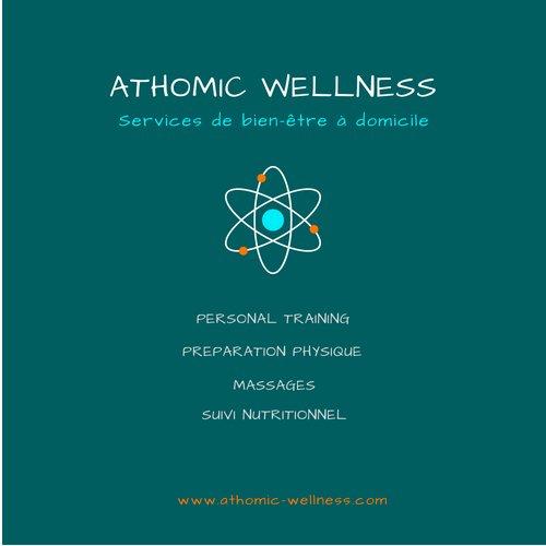 Logo Athomic Wellness à Genève