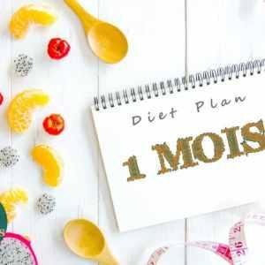 Rééquilibrage alimentaire Suivi nutritionnel sur 1 mois - Diet Plan 1 month - Athomic Wellness