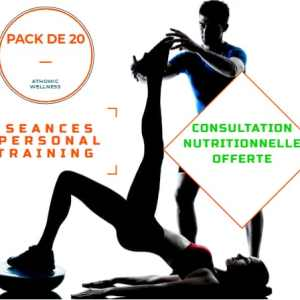 Pack 20 séances de personal training