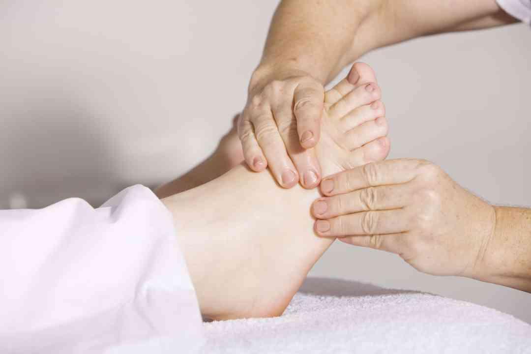 Acupression des pieds en Thaï Massage