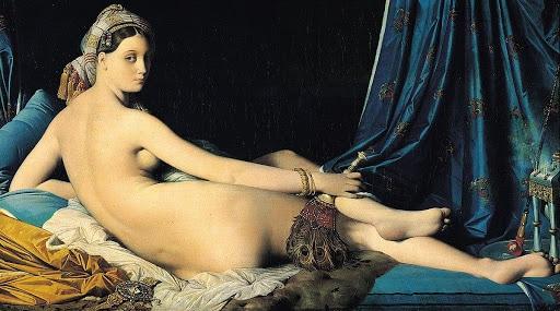 La Grande Odalisque - Jean Auguste Dominique Ingres - 1814
