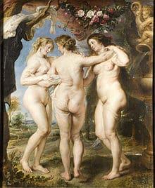 Les Trois Grâces de Peter Paul Rubens, (1636-1638)