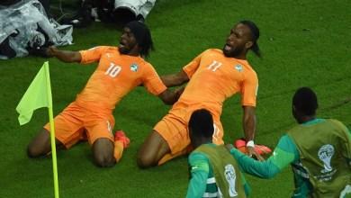 Es cierto que Didier no marcó gol, pero desde la primera pelota que tocó dejó claro que sería una pesadilla y un factor psicológico en contra de sus adversarios