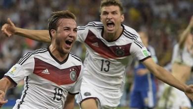 Alemania de blanco y Argentina de azul, saltaron a la cancha del coloso de Río de Janeiro para enfrascarse en un duelo a muerte, donde al final el vencedor fue el cuadro europeo