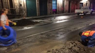 El Jefe de Distribución agregó que ya se solicitó apoyo de Tránsito Municipal, para coordinar los trabajos y la circulación de autos sobre el tramo que se va a reparar