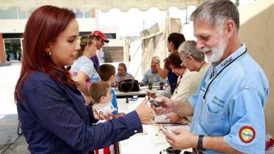 Andrea Villanueva invita a los ciudadanos a votar