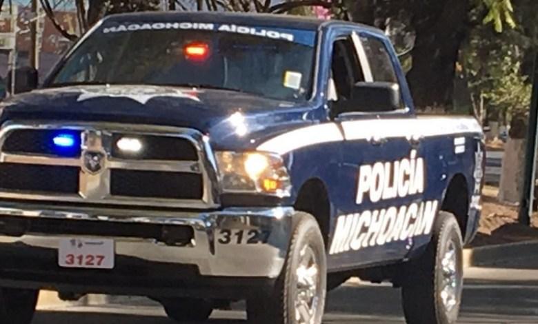 La SSP de Michoacán realiza fuerte operativo en la colonia Fidel Velázquez y sus alrededores; los hampones se desplazan en un taxi