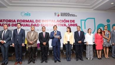 Las unidades de Igualdad Sustantiva son consideradas pioneras en el país y buscarán dar seguimiento e implementar acciones hacia el interior de las dependencias del estado